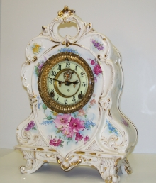 Ansonia China Mantel Clock