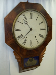 Chisel Bottom Wall Clock