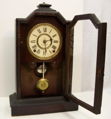 Dated Dial Mantel Clock
