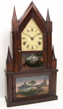 Double Steeple Clock