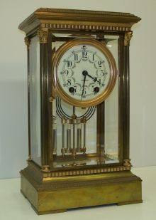 Empire Crystal Regulator Clock