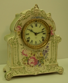 Royal Bonn China Clock