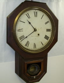 8-day Schoolhouse Clock
