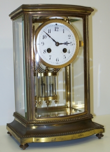 Tiffany Crystal Regulator Clock