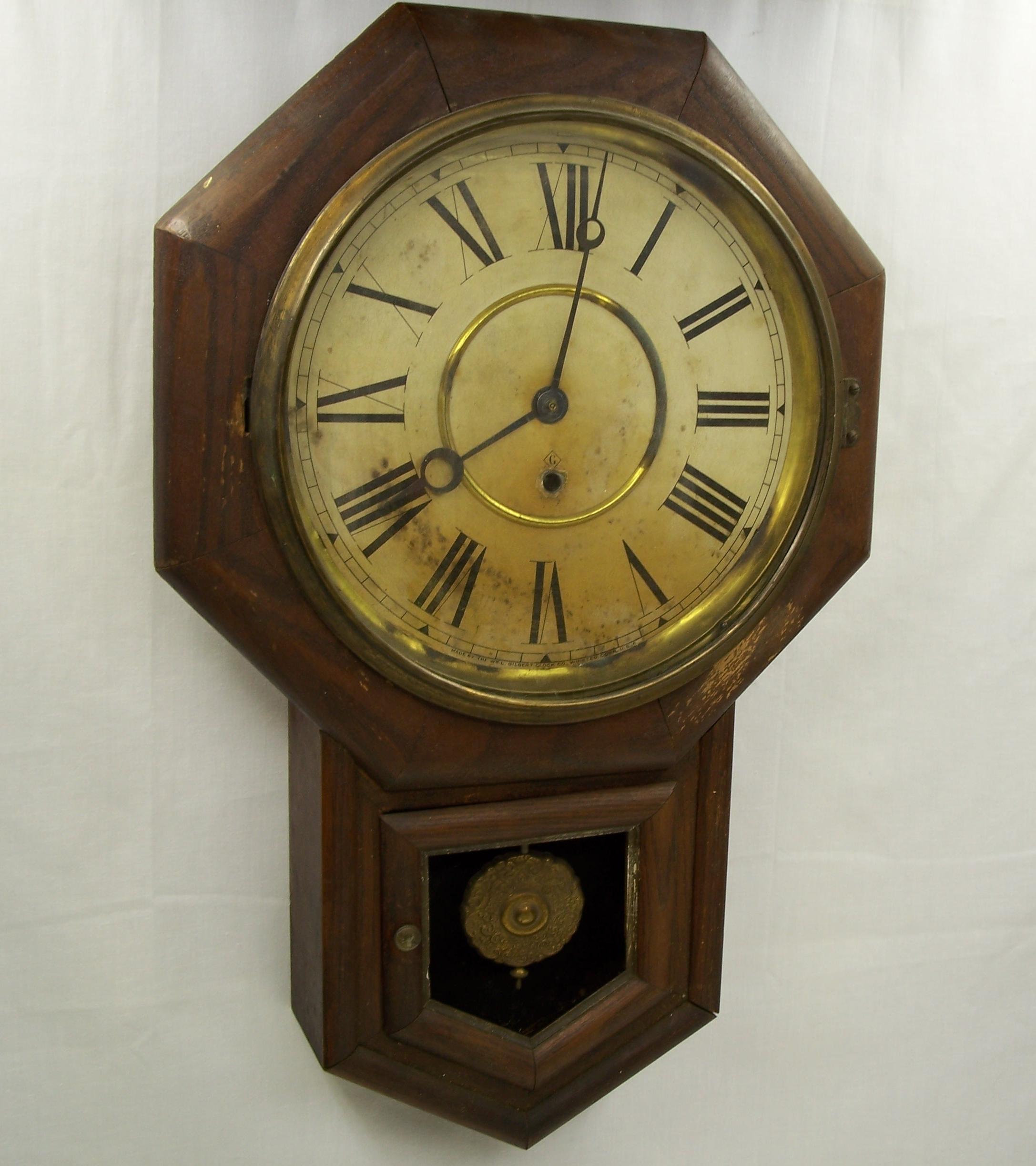 Gilbert Schoolhouse Clock Clockfolk